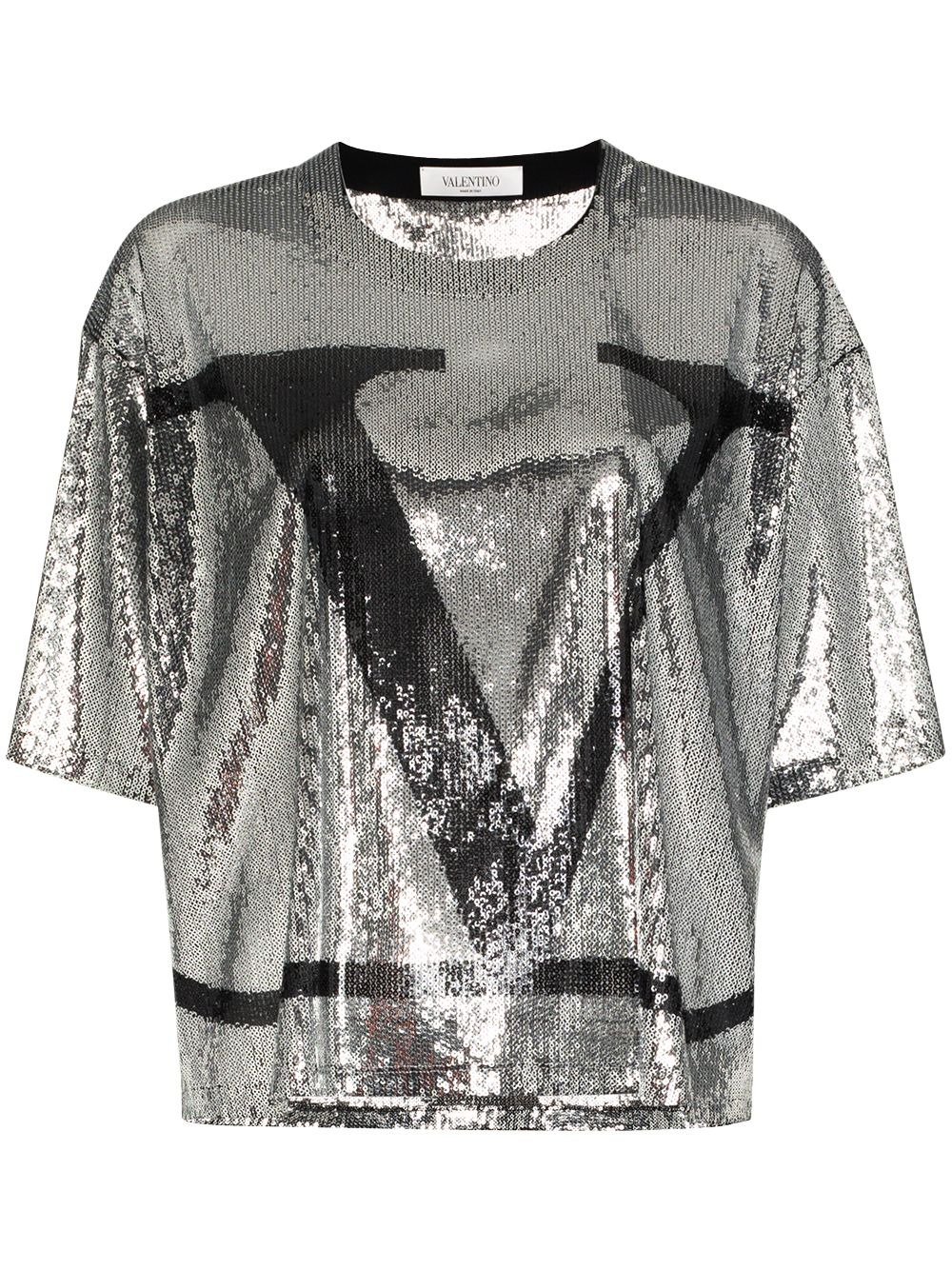 Vlogo Sequinned T-shirt