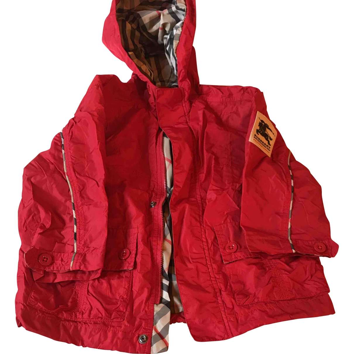 Burberry \N Red jacket & coat for Kids 2 years - up to 86cm FR