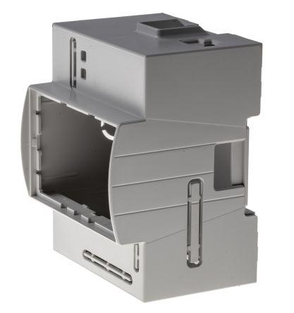 Italtronic Modulbox DIN Rail Series For Use With Raspberry Pi A, Raspberry Pi B, Grey, Transparent Raspberry Pi Case
