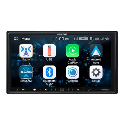 Alpine7 -Inch Ultra-Shallow Mech-Less Receiver - ILX-W650
