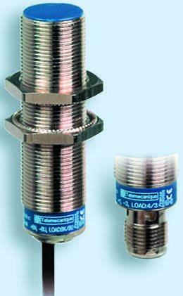Telemecanique Sensors M12 x 1 Inductive Sensor - Barrel, PNP-NO Output, 7 mm Detection, IP69K, Cable Terminal