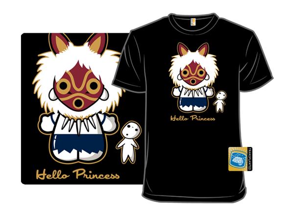 Hello Princess T Shirt