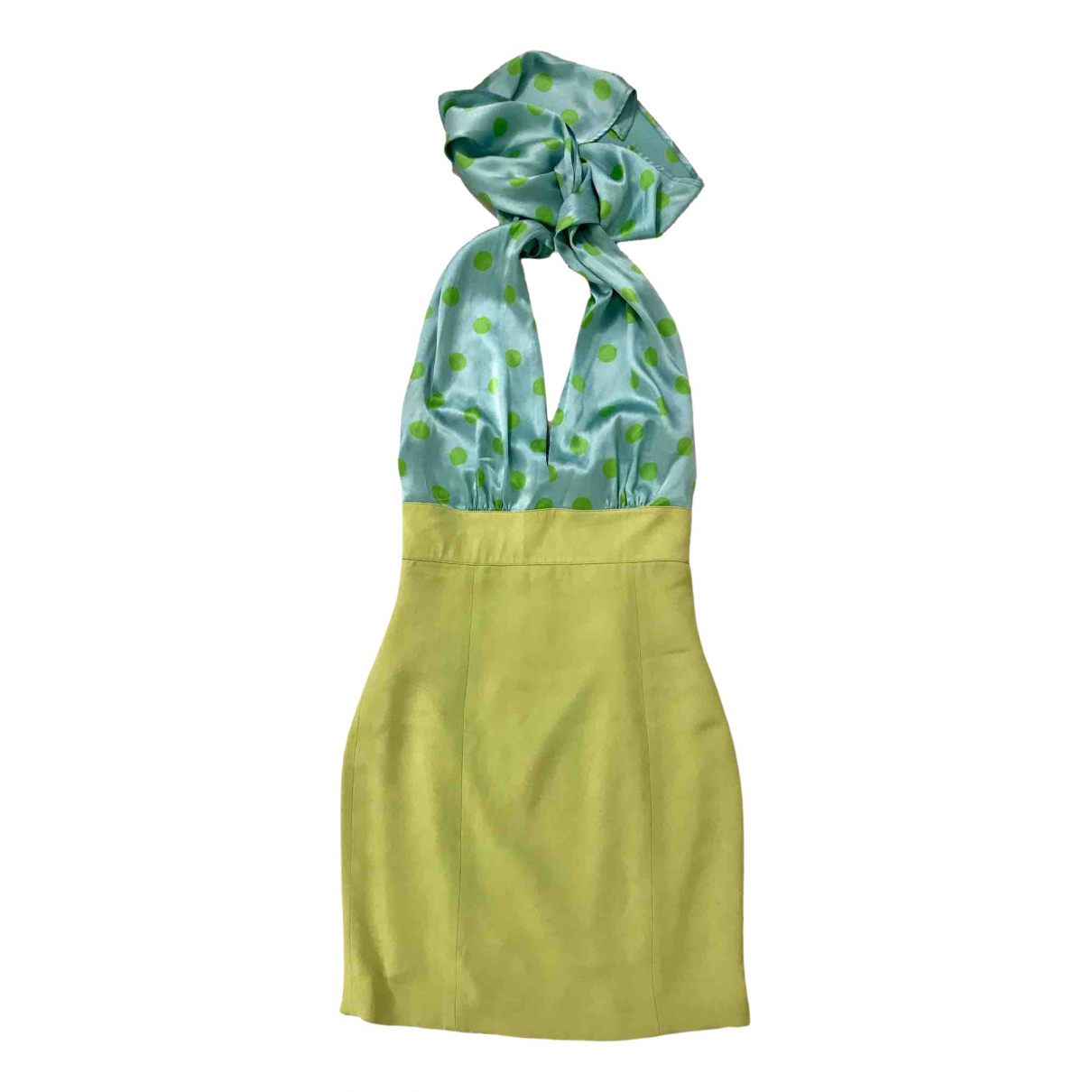 Dior \N Turquoise Silk dress for Women 40 IT