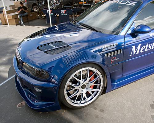 Flossman Carbon GTR Street Front Spoiler Bumper BMW E46 M3 01-06
