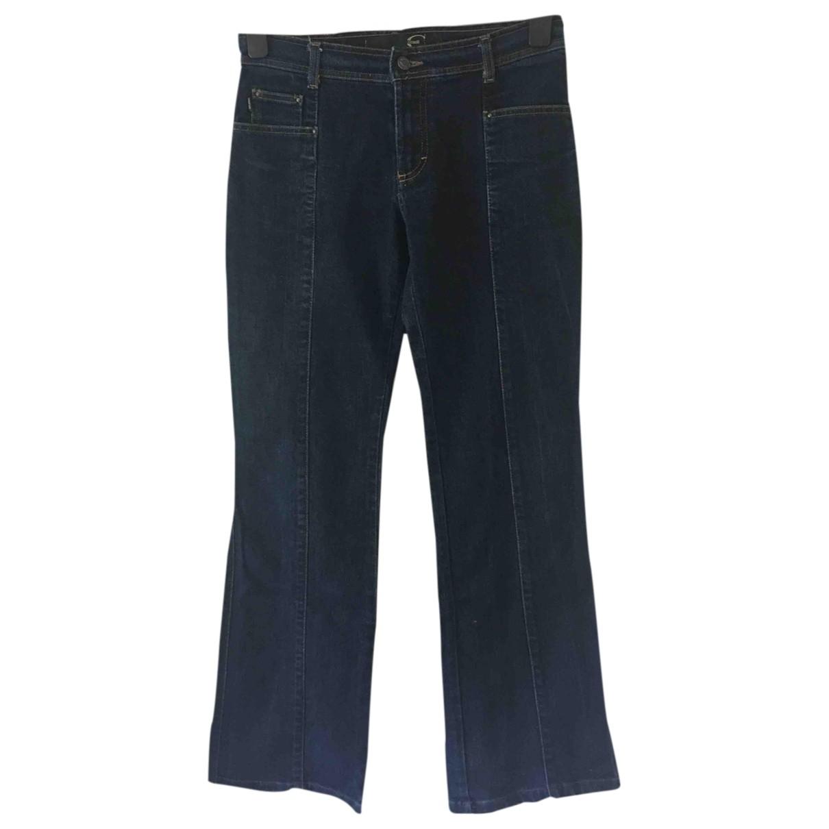Just Cavalli \N Blue Denim - Jeans Jeans for Women 38 FR