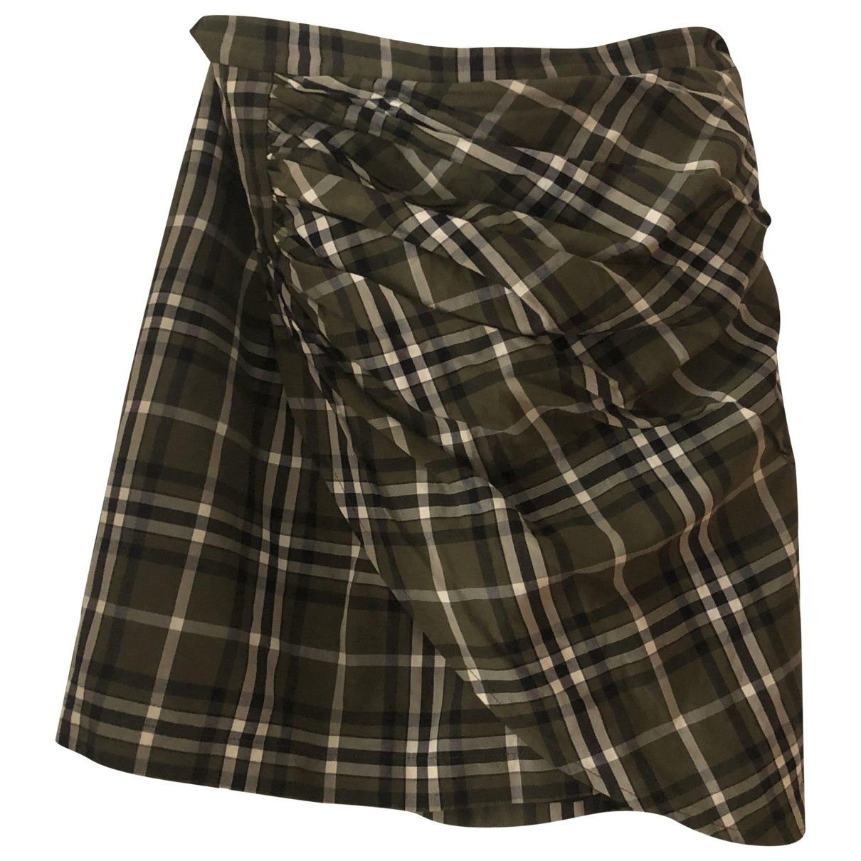 Birgitte Herskind \N Khaki Cotton skirt for Women M International
