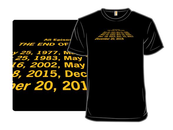 End Of An Era T Shirt