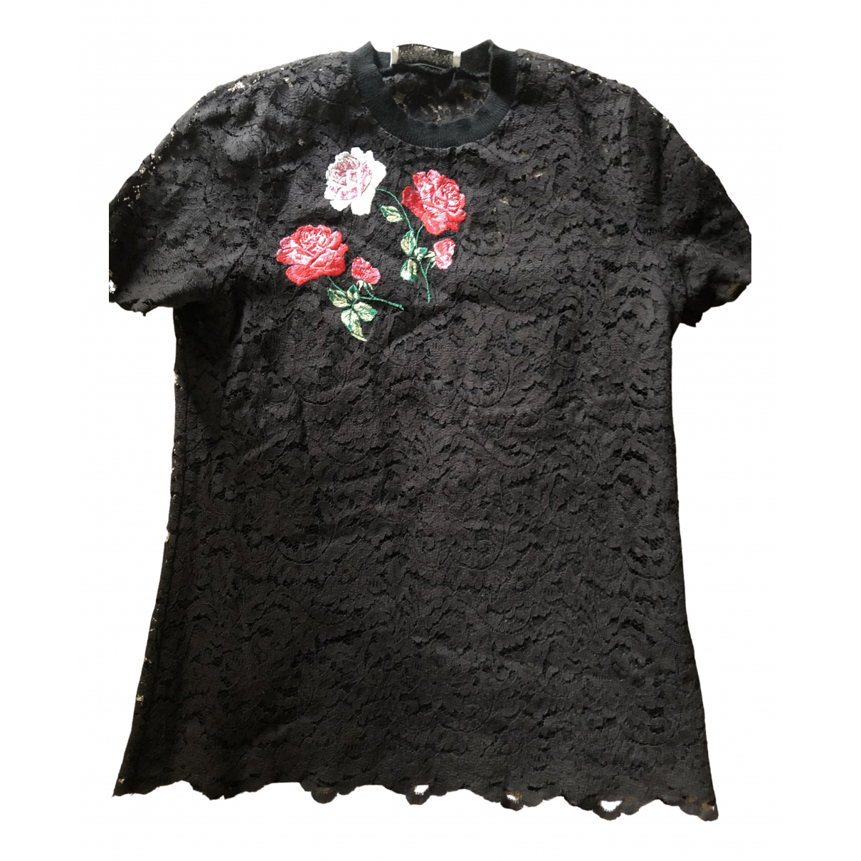 Blumarine \N Black Lace  top for Women M International