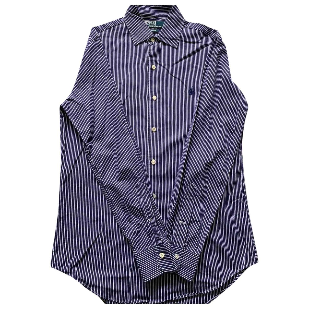 Polo Ralph Lauren \N Blue Cotton Shirts for Men S International