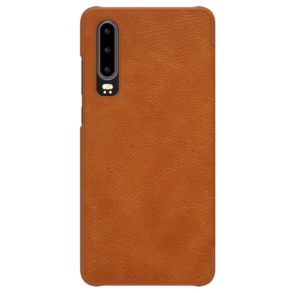 NILLKIN Protective Leather Phone Case For HUAWEI P30 Smartphone - Black