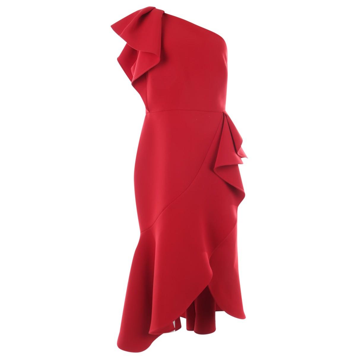 Elie Saab \N Red dress for Women 40 FR