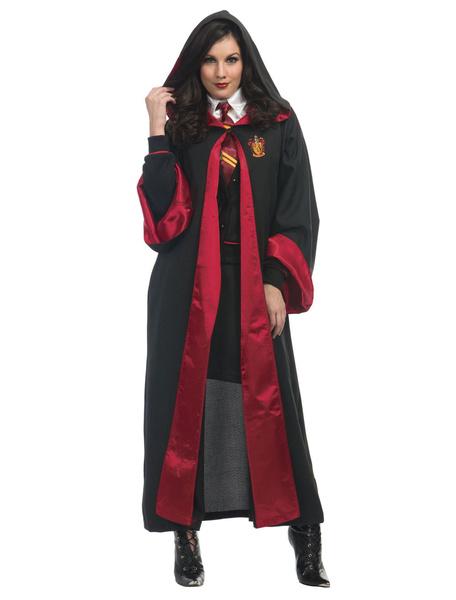 Milanoo Harry Potter Cosplay Costume Women Gryffindor Robe Uniform And Tie Halloween