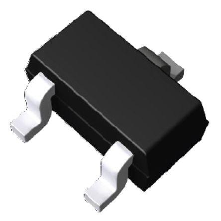 ROHM , DTA144EUAT106 PNP Digital Transistor, 100 mA 47 kΩ, Ratio Of 1, 3-Pin UMT (10)