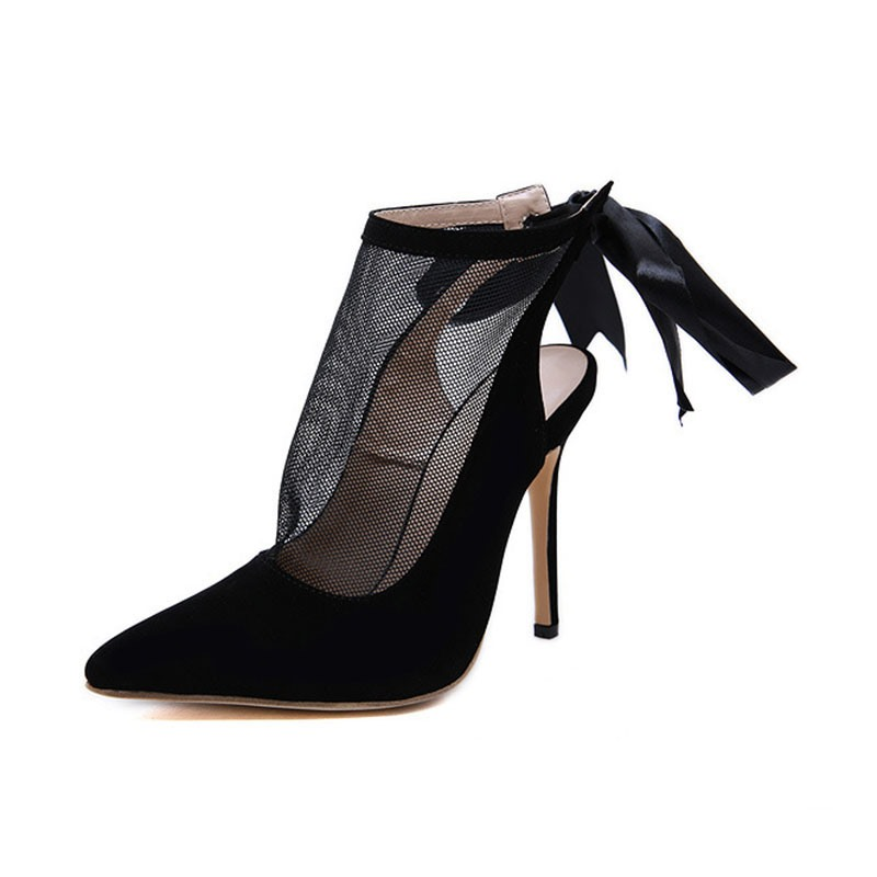 Ericdress Pointed Toe Thread Stiletto Heel Ultra-High Heel Pumps