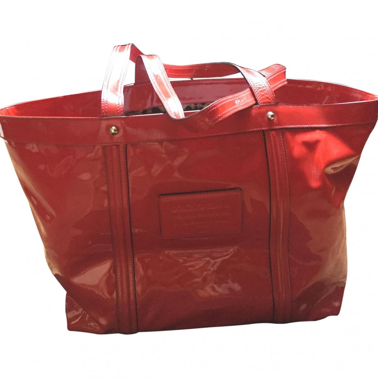 Dolce & Gabbana \N Red Patent leather handbag for Women \N