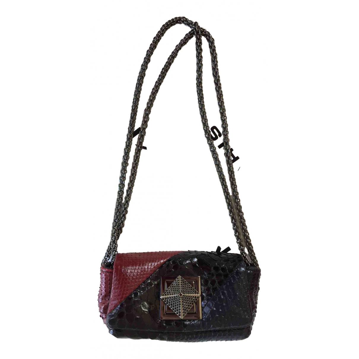Sonia Rykiel Copain Multicolour Lizard handbag for Women \N
