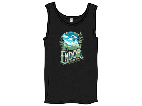 Endor The Forrest Moon T Shirt