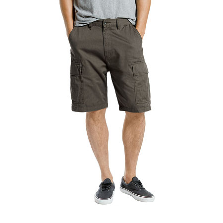 Levi's Carrier Mens Cargo Short Big and Tall, 54 , Gray