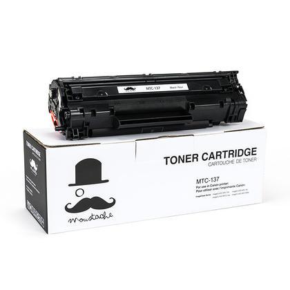 Canon 137 9435B001 cartouche de toner compatible noire - Moustache®