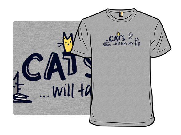 The Future Is Cats T Shirt