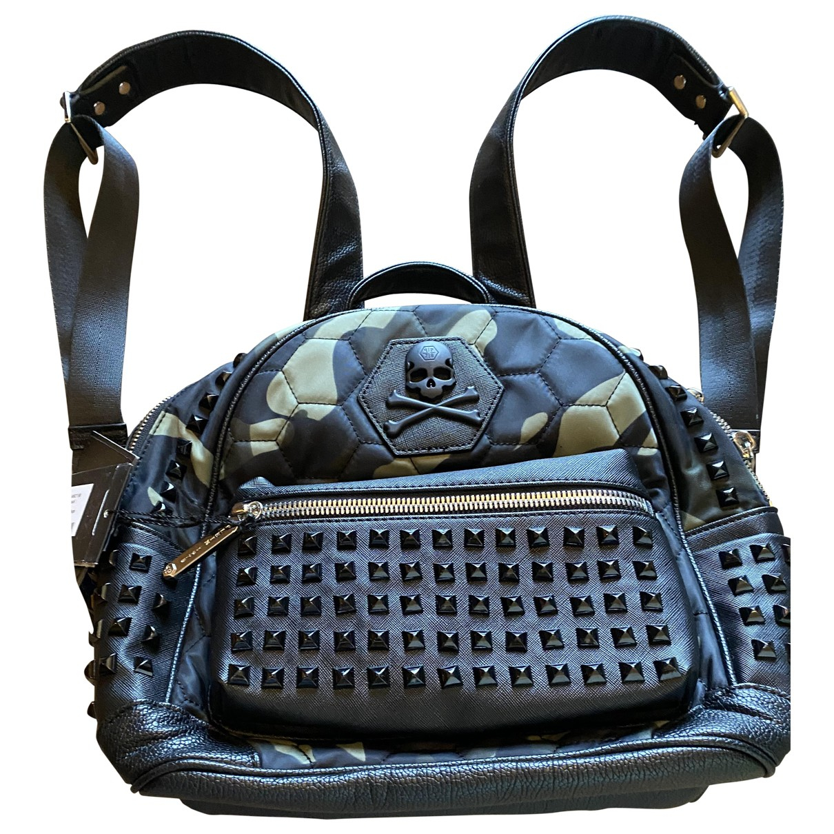 Philipp Plein \N Black Leather bag for Men \N