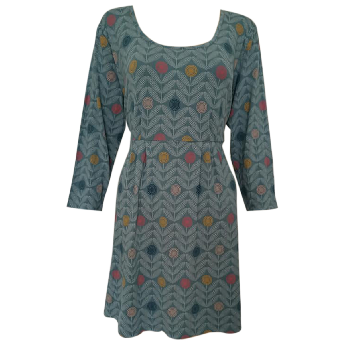 Non Signé / Unsigned \N Blue dress for Women 18-20 UK