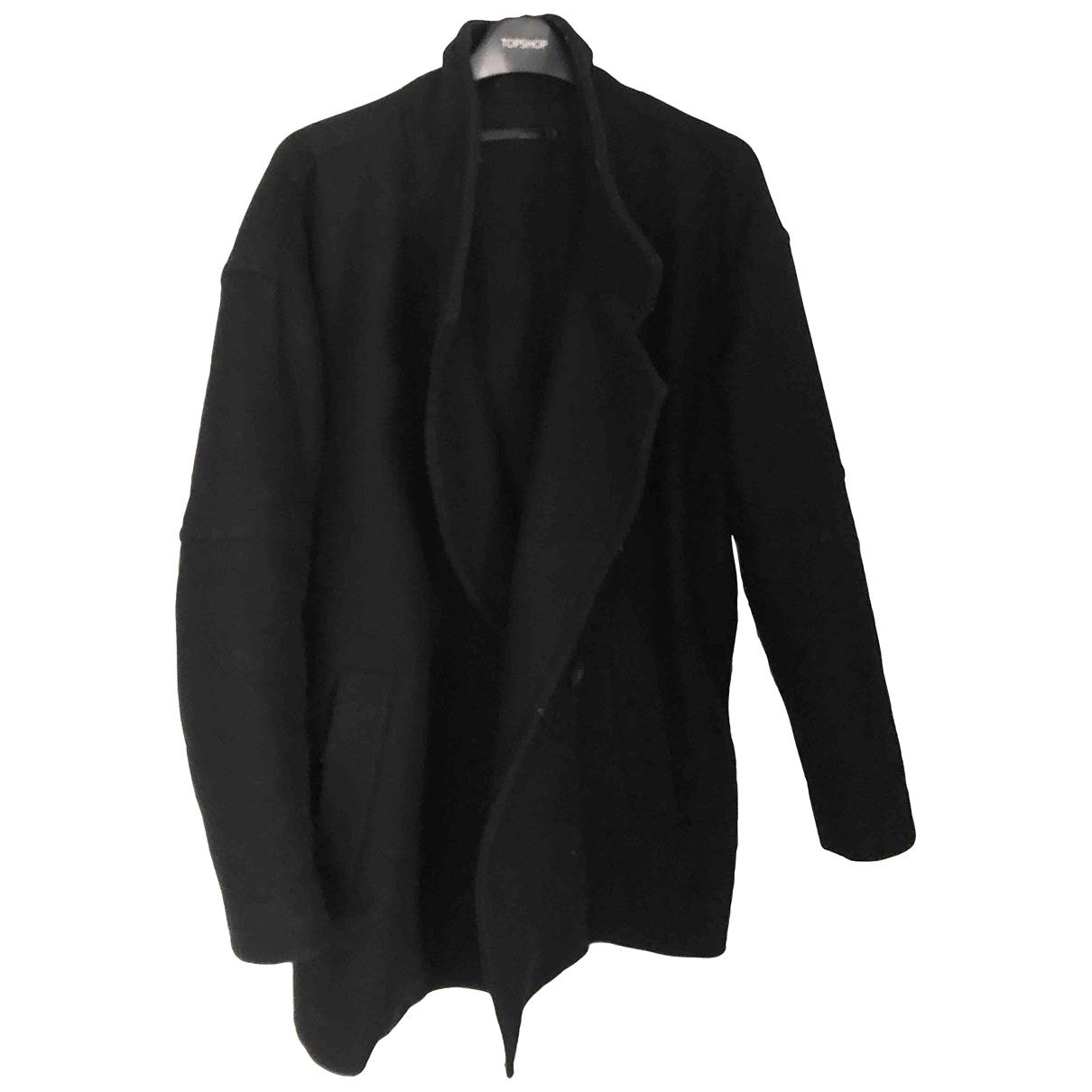 All Saints \N Navy Wool coat for Women 6 UK