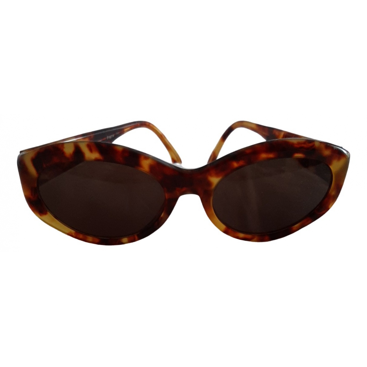Blumarine \N Brown Sunglasses for Women \N