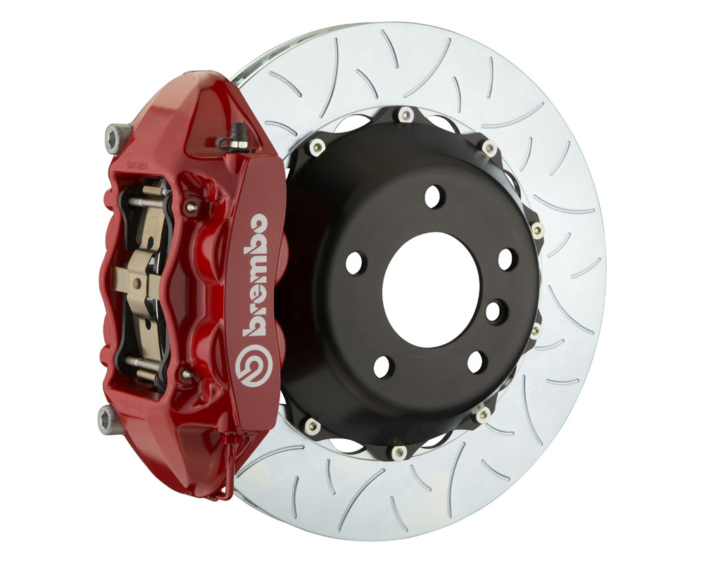 Brembo GT 380x28 2-Piece 4 Piston Red Slotted Type-3 Rear Big Brake Kit