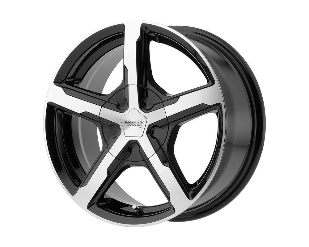 American Racing AR921 Trigger Wheel 16x7 5x5x108/5x114.3 +40mm Gloss Black Machined