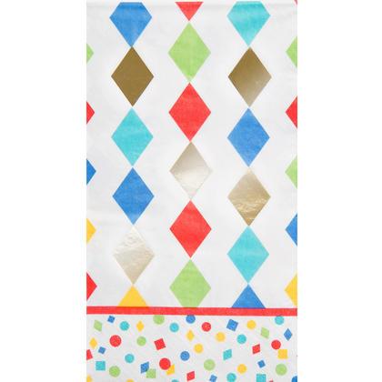 Party Diamonds Guest Towels, 16ct - Foil Stamped Pour la fête d'anniversaire