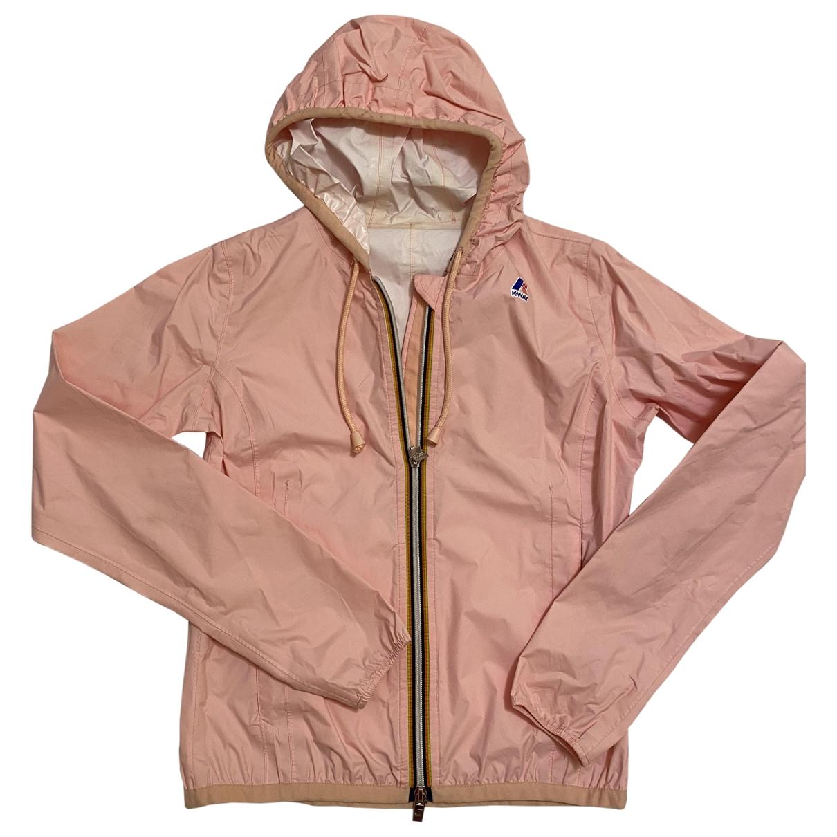K-way \N Pink jacket for Women 40 IT