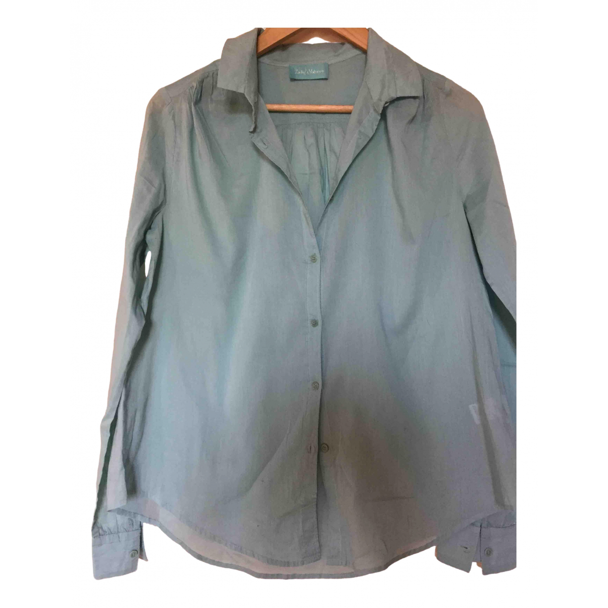 Zadig & Voltaire Spring Summer 2019 Blue Cotton  top for Women 38 FR