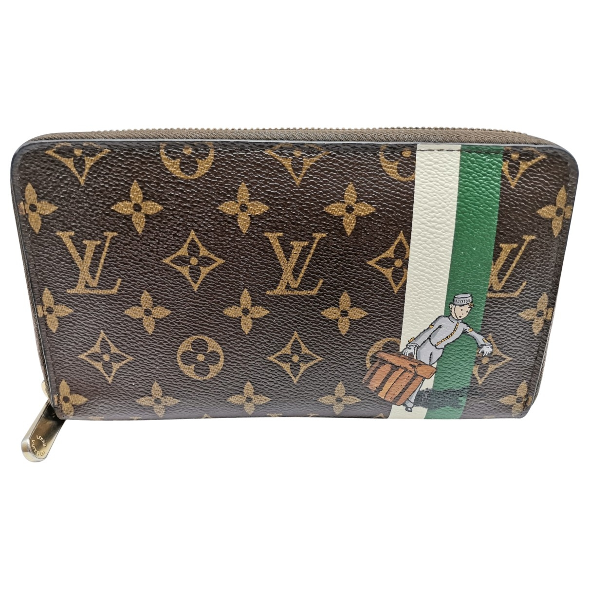 Louis Vuitton Zippy Cloth wallet for Women \N