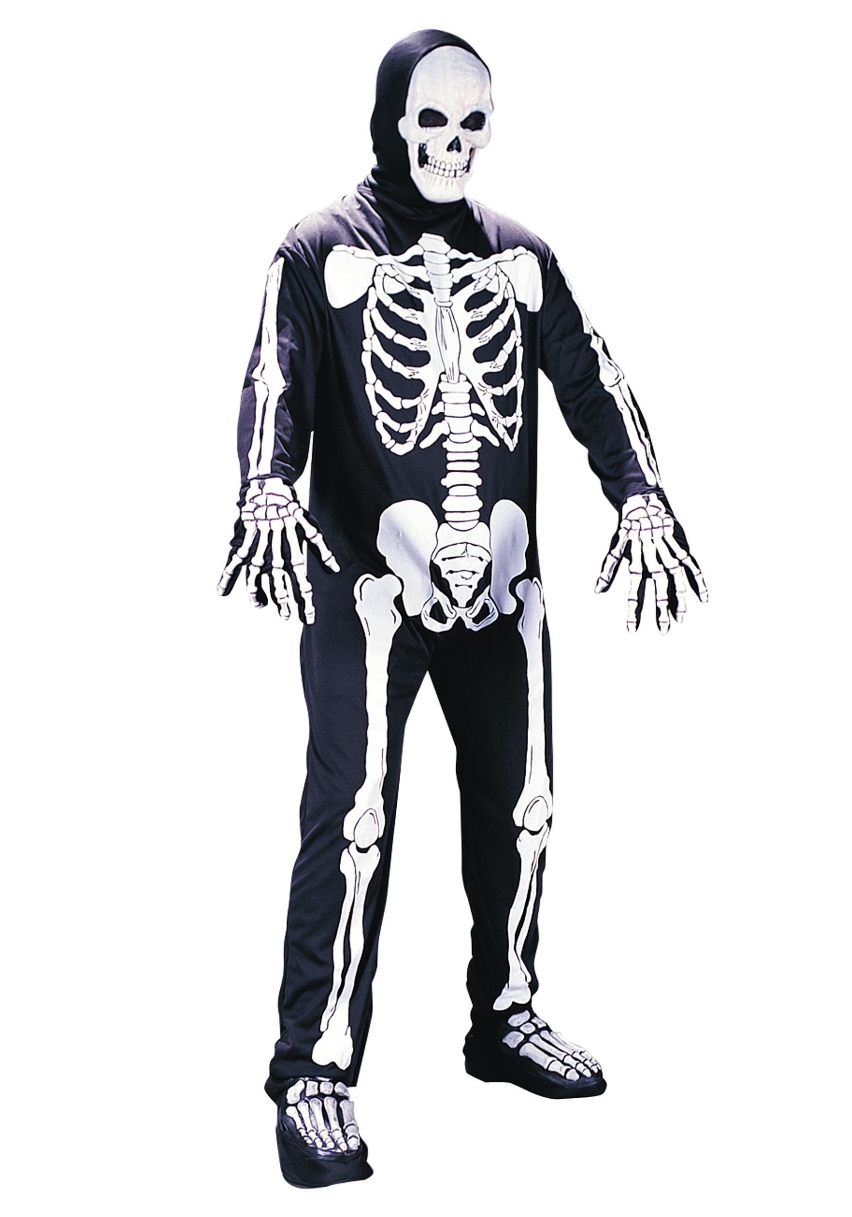 Plus Size Scary Skeleton Costume