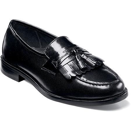 Nunn Bush Manning Mens Kiltie Tassel Dress Loafer Shoes, 11 Wide, No Color Family
