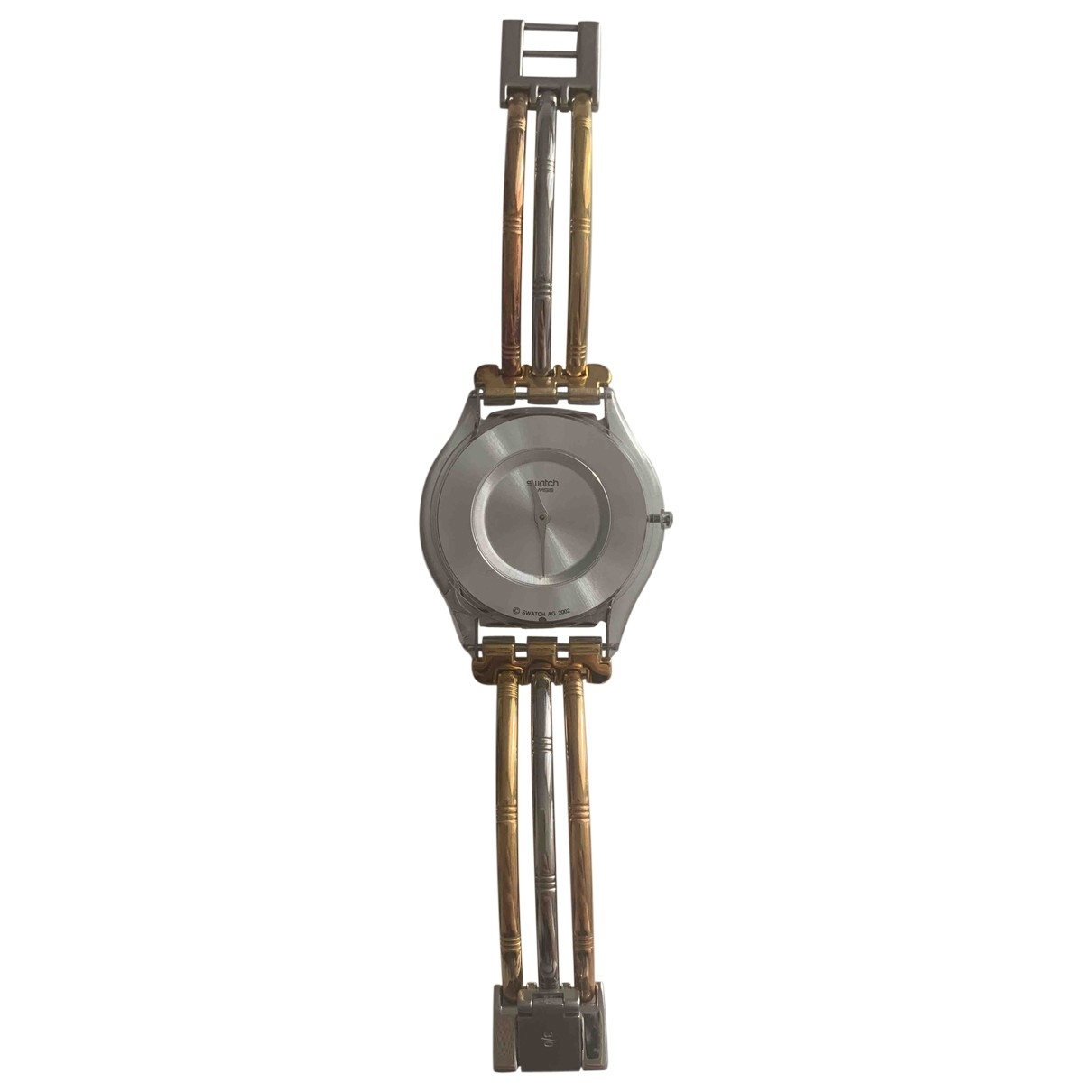 Swatch \N Gold Steel watch for Women \N