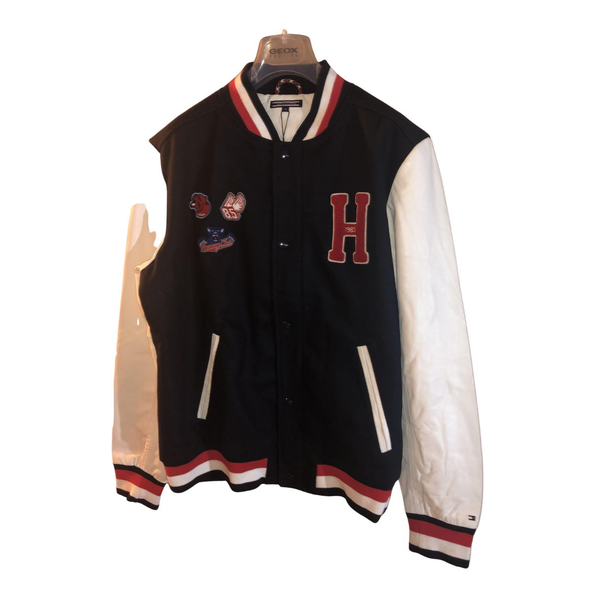 Tommy Hilfiger \N Navy Leather jacket & coat for Kids 16 years - M UK