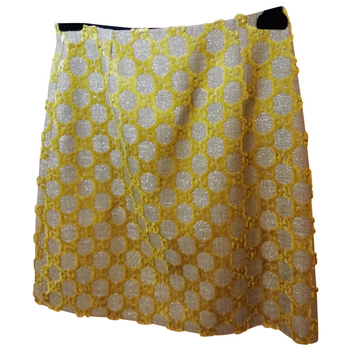 Gucci \N Yellow skirt for Women 42 IT
