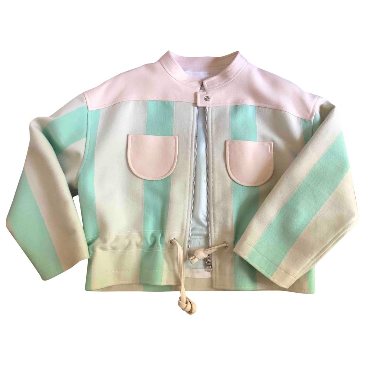 Courrèges \N Ecru Wool jacket for Women 40 FR