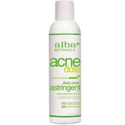 Natural ACNEdote Deep Cleaning Astringent 6 oz by Alba Botanica