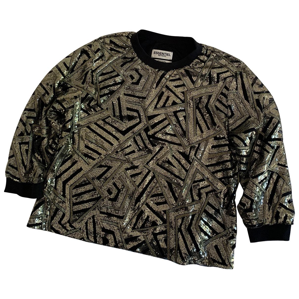 Essentiel Antwerp \N Gold Knitwear for Women 40 IT
