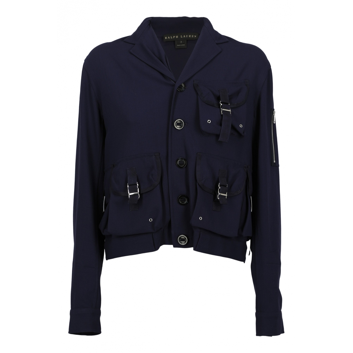Ralph Lauren \N Blue Wool jacket for Women 2 US