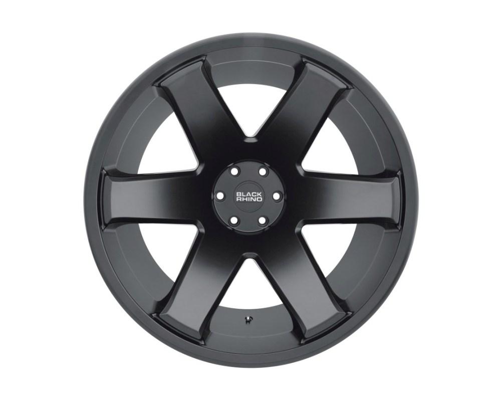 Black Rhino Raze Matte Black Wheel 22x14 5x127|5x5 -76mm CB71.6