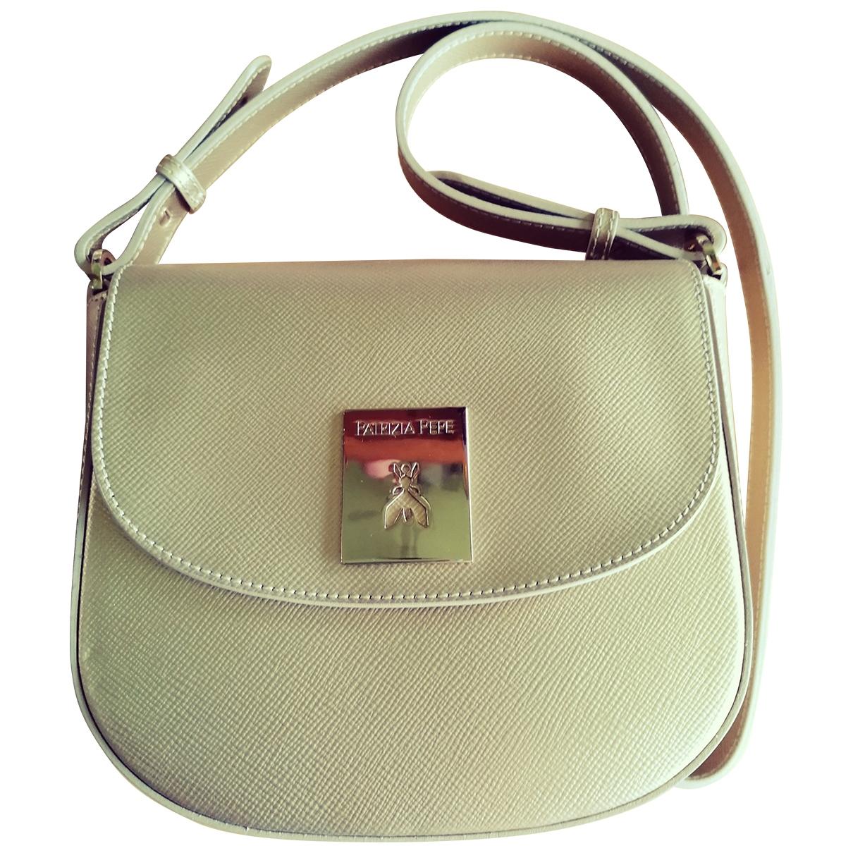 Patrizia Pepe \N Gold Leather handbag for Women \N