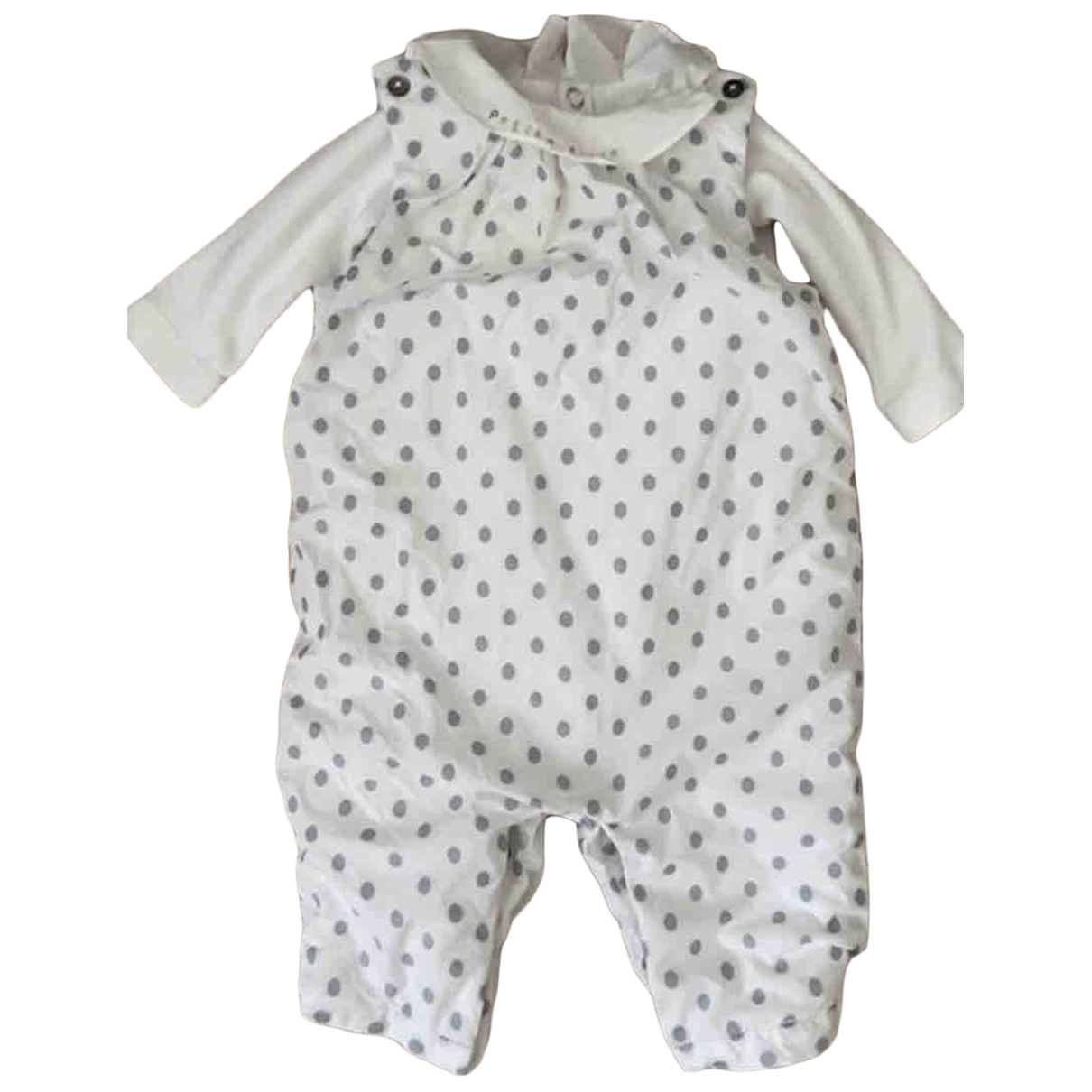 Jacadi \N White Cotton Outfits for Kids 3 months - up to 60cm FR