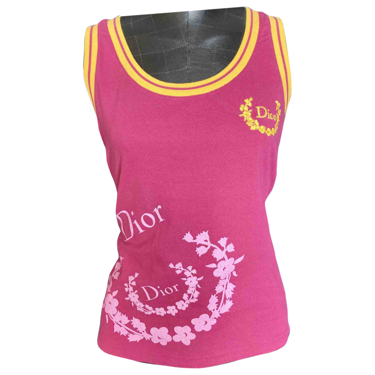Dior \N Pink Cotton  top for Women 40 FR