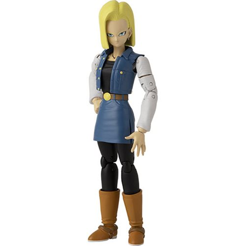 Dragon Ball Stars Android 18 Action Figure