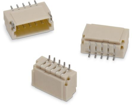 Wurth Elektronik , WR-WTB, 6651, 10 Way, 1 Row, Horizontal Header (1500)