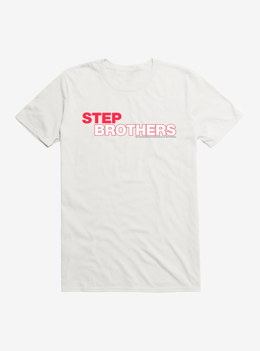 Step Brothers Title Script T-Shirt
